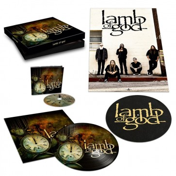 LAMB OF GOD BOX INCL. DIGIPAK / BONUSTRACK, 20 PAGES BOOKLET,  PIC LP, POSTER AND SLIPMAT BOXSET
