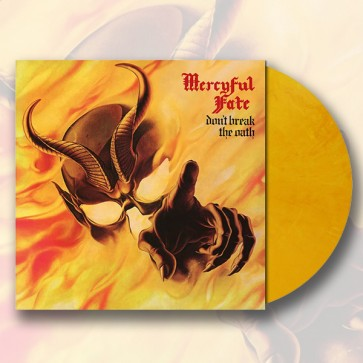 DON'T BREAK THE OATH GOLDEN YELLOW MRBL. VINYL (1000)