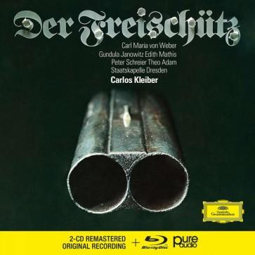 DER FREISCHUTZ (2CD + BLU RAY)