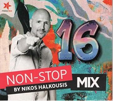 NON STOP MIX BY NIKOS HALKOUSIS VOL.16(CD)