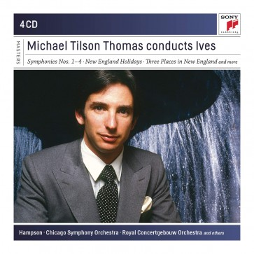 MICHAEL TILSON THOMAS CONDUCTS IVES 4CD