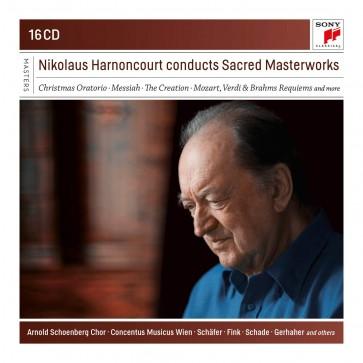 NIKOLAUS HARNONCOURT CONDUCTS SACRED MAS 16CD