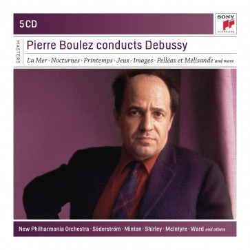 PIERRE BOULEZ CONDUCTS DEBUSSY 5CD