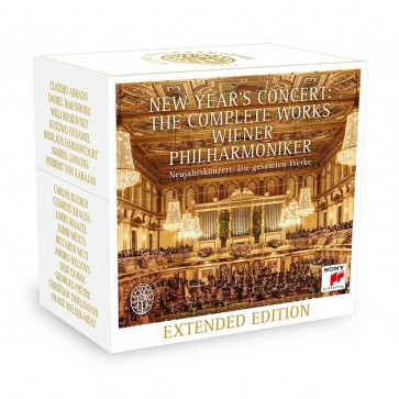 NEW YEAR'S CONCERT: THE COMPLETE WORKS CD