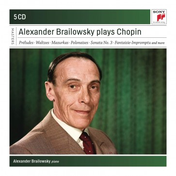 ALEXANDER BRAILOWSKY PLAYS CHOPIN 5CD