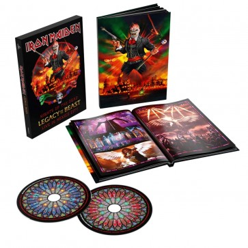 NIGHTS OF THE DEAD, LEGACY OF THE BEAST: LIVE IN MEXICO CITY ( 2CD LIMITED CASEBOUND BOOK)