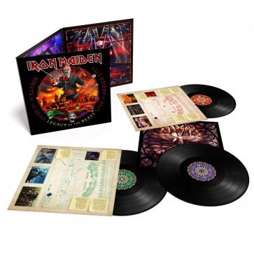 NIGHTS OF THE DEAD, LEGACY OF THE BEAST: LIVE IN MEXICO CITY (3LP LIMITED)