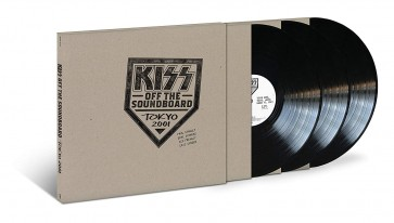 KISS OFF THE SOUNDBOARD: TOKYO 2001 3LP