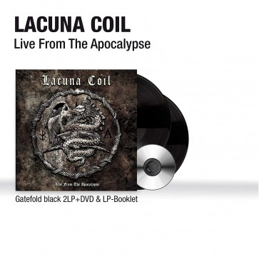 LIVE FROM THE APOCALYPSE 2LP+DVD