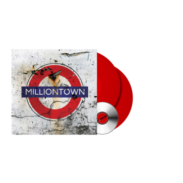 MILLIONTOWN (RE-ISSUE 2021) RED 2LP+CD