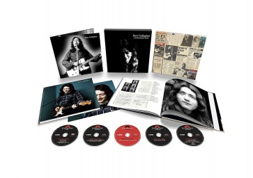 RORY GALLAGHER 4CD + DVD BOX