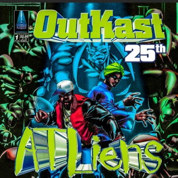 ATLIENS (25TH ANNIVERSARY DELUXE EDITION) 4LP