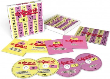 SEX PISTOLS – 76-77 (4CD)