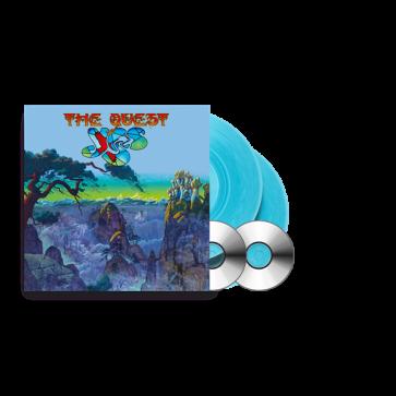 THE QUEST LIGHT BLUE 2LP+2CD