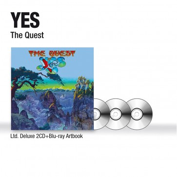 THE QUEST 2CD+BD