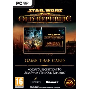 TC STAR WARS THE OLD REPUBLIC TIME CARD