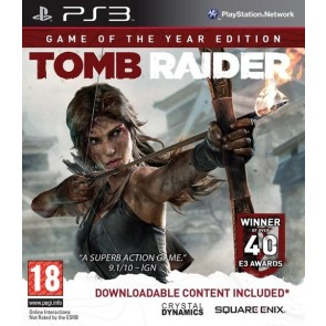 PS3 TOMB RAIDER - GAME OF THE YEAR EDITION (EU))
