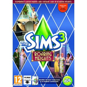 PCCD SIMS 3 ROARING HEIGHTS (EXPANSION PACK - DOWNLOADABLE CODE) (EU)