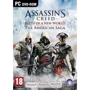 PCCD ASSASSIN'S CREED : BIRTH OF A NEW WORLD - THE AMERICAN SAGA (INCLUDES ASSASSIN'S CREED III, LIB