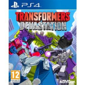 PS4 TRANSFORMERS: DEVASTATION (EU)