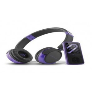 ES-MP4 + HEADPHONES VIOLET 4GB