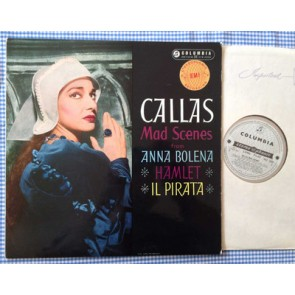 Maria Callas/ Mad Scenes/LP