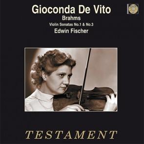 Gioconda De Vito/Brahms: Violin Sonatas No.1 & No.3