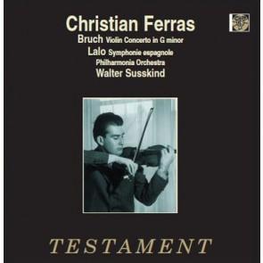 Christian Ferras/Bruch: Violin Concerto in G minor
