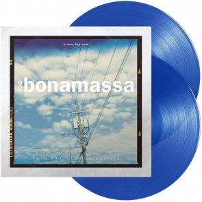 A NEW DAY NOW LP BLUE TRANSPARANT