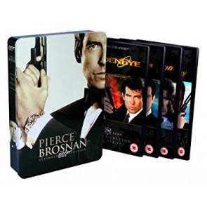 JAMES BOND 007 - PIERCE BRONSNAN box (4 DVD-MOVIES)