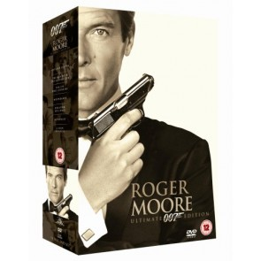 JAMES BOND 007 -  ROGER MOORE box (7 DVD-MOVIES)
