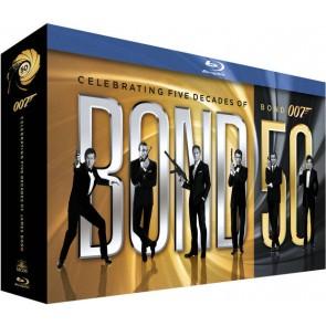 JAMES BOND 007 50TH ANNIVERSARY-BOX SET (22 MOVIES)