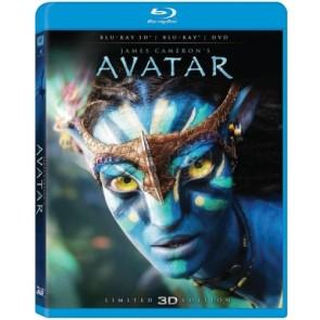 AVATAR COMBO (3D+2D+DVD)