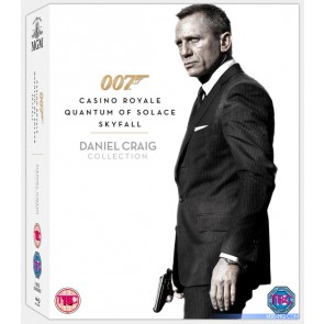 DANIEL GRAIG COLLECTION (CASINO ROYAL - QUANTUM OF SOLACE – SKYFALL)