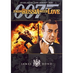 JAMES BOND: ΑΠΟ ΤΗ ΡΩΣΙΑ ΜΕ ΑΓΑΠΗ DVD/ FROM RUSSIA WITH LOVE DVD