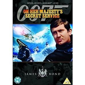JAMES BOND: ΣΤΗΝ ΥΠΗΡΕΣΙΑ ΤΗΣ ΑΥΤΟΥ ΜΕΓΑΛΕΙΟΤΗΣ DVD/ON HER MAJESTY'S SECRET DVD
