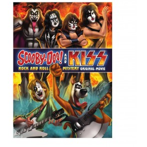 SCOOBY-DOO AND KISS ROCK & ROLL MYSTERY DVD