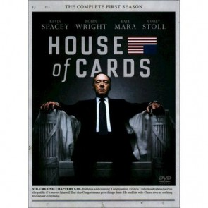 HOUSE OF CARDS TV 1ος ΚΥΚΛΟΣ (4 DVD)/HOUSE OF CARDS TV Series 1 (4 DVD)