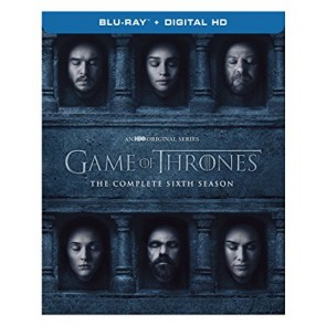 GAME OF THRONES ΟΛΟΚΛΗΡΟΣ Ο ΕΚΤΟΣ ΚΥΚΛΟΣ DVD/GAME OF THRONES THE COMPLETE SIXTH SEASON DVD