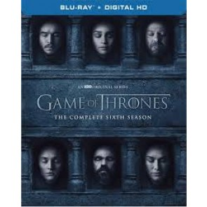 GAME OF THRONES ΟΛΟΚΛΗΡΟΣ Ο ΕΚΤΟΣ ΚΥΚΛΟΣ BD/GAME OF THRONES THE COMPLETE SIXTH SEASON BD