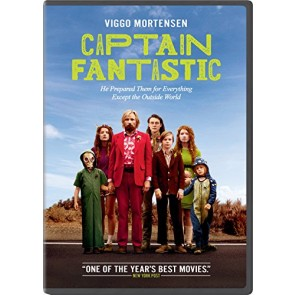 CAPTAIN FANTASTIC DVD