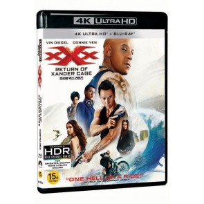 XXX: ΕΠΑΝΕΚΚΙΝΗΣΗ 4K UHD B.D.(1 DISC)/XXX: RETURN OF XANDER CAGE 4K UHD B.D.(1 DISC)