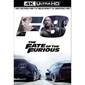 FAST & FURIOUS 8:ΟΙ ΜΑΧΗΤΕΣ ΤΩΝ ΔΡΟΜΩΝ/THE FATE OF THE FURIOUS BD 4KUHD