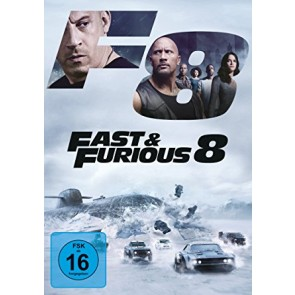 FAST & FURIOUS 8: ΜΑΧΗΤΕΣ ΤΩΝ ΔΡΟΜΩΝ DVD