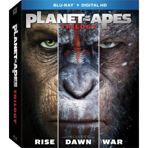 PLANET OF THE APES TRILOGY (STEELBOOK 3 DISCS)