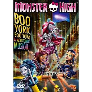 MONSTER ΥΟΡΚΗ, MONSTER ΥΟΡΚΗ: ENA MONSTER ΜΙΟΥΖΙΚΑΛ DVD/MONSTER HIGH BOO YORK BOO YORK DVD
