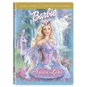 BARBIE  ΣΤΗΝ ΛΙΜΝΗ ΤΩΝ ΚΥΚΝΩΝ DVD/BARBIE SWAN LAKE DVD