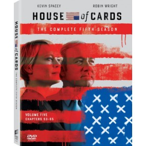 HOUSE OF CARDS TV Series 5 (4 DVD)