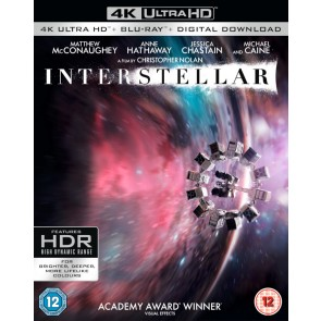 INTERSTELLAR 4K(3DISCS)