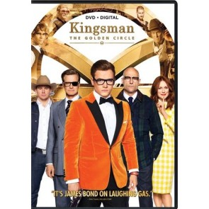 KINGSMAN: O ΧΡΥΣΟΣ ΚΥΚΛΟΣ DVD/KINGSMAN: THE GOLDEN CIRCLE DVD